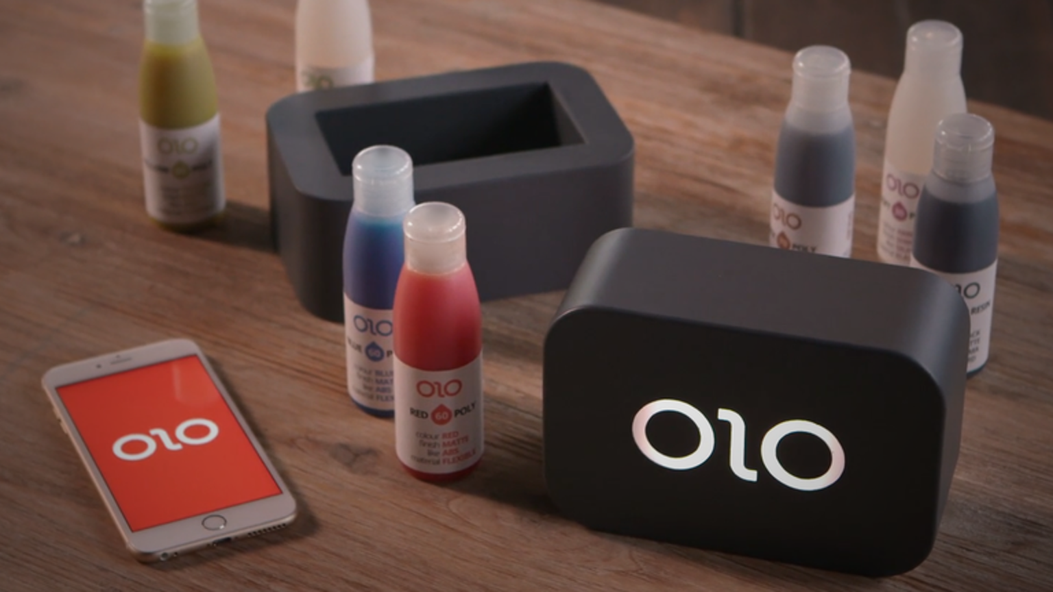 The first 3D printer for mobile phones |